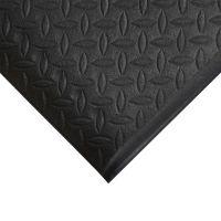 Černá gumová protiskluzová protiúnavová průmyslová rohož - 18,3 m x 120 cm x 0,9 cm