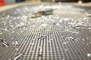 Černá gumová průmyslová protiúnavová protiskluzová rohož - délka 150 cm, šířka 90 cm a výška 1 cm FLOMAT