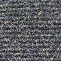 Textilní gumová hliníková vnitřní vstupní rohož Alu Standard, FLOMAT - délka 100 cm, šířka 100 cm a výška 1,7 cm