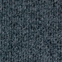 Textilní gumová hliníková vnitřní vstupní rohož Alu Standard, FLOMAT - délka 100 cm, šířka 100 cm a výška 2,2 cm