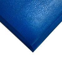 Modrá gumová protiúnavová průmyslová rohož - 18,3 m x 90 cm x 1,25 cm