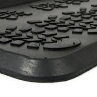 Gumový odkapávač na boty Shoes, FLOMAT - délka 40 cm, šířka 80 cm a výška 2,3 cm